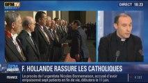 BFM Story: Le bilan de la rencontre de François Hollande et du pape François - 24/01