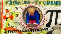 """Milena Oda in MILENA-ODA-TV-CHANNEL liest aus ihrer Erzählung""""PiQuadrat"""""""