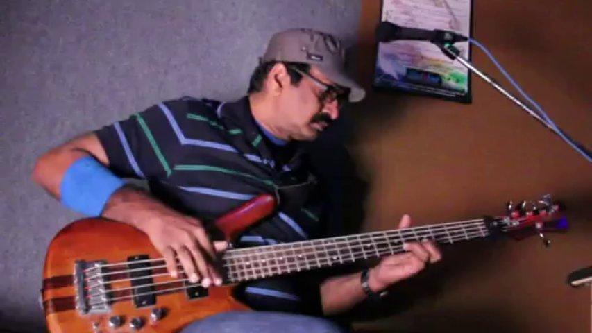 32 notes/Sec | World's Fastest Bass Guitar Player Jayen Varma