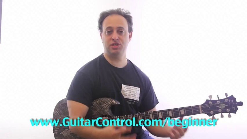 Electric Guitar Song – Super Easy Guitar Lesson
