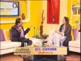 Mazedar Morning with Yasmeen on Indus Television 22-01-14 part 2
