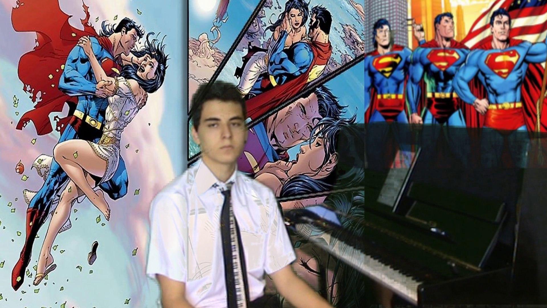 Film Müziği SUPERMAN Piyano Türkçe Film Muzik Cover Canlı Çelik Enstrumantal Süper Adam mail Sinema