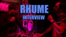 Rhume - Interview (Mo'Fo' 2014)