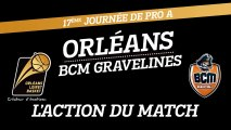L'action du match - J17 - Orléans reçoit le BCM Gravelines