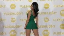 Cindy Starfall 2014 XBIZ Awards Red Carpet Arrivals