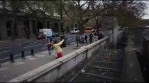 Grosse chute en PARKOUR - Il tombe du haut du toit!