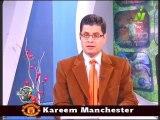 اخر اخبار الرياضه الاعلاميين طارق رضوان ومني عبد الكريم في صباح الرياضه 26 يناير 2014