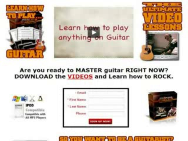 FREE DOWNLOAD  Make 500% More With The Ultimate In Guitar Lessons