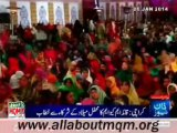 "MQM Quaid Altaf Hussain speech ""Mehfil e Zikar E Mustafa"" On 25th Jan 2014 In Jinnah Ground Azizabad Karachi"