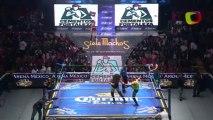 Hombre Bala Jr. & Súper Halcón Jr. vs Guerrero Negro Jr. & Herodes Jr.
