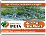 9871424442::9873687898||appu ghar nec+retail shops gurgaon sector 29