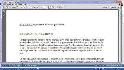 Word 2013 : Edition d'un fichier PDF
