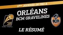 Le Résumé - J17 - Orléans reçoit le BCM Gravelines