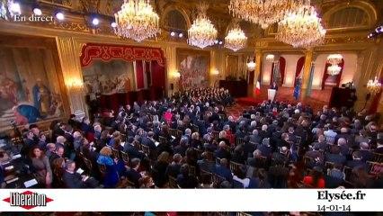 La conférence de presse de François Hollande en cinq minutes chrono