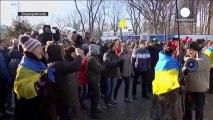 Ukraine : la contestation s'étend à travers le pays