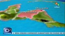 Enfrentamiento entre policía y supuestos narcotraficantes en Honduras