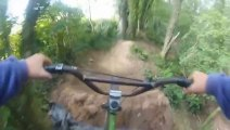 Bmx Dirt Jump CRASH - Go Pro Trails Accident