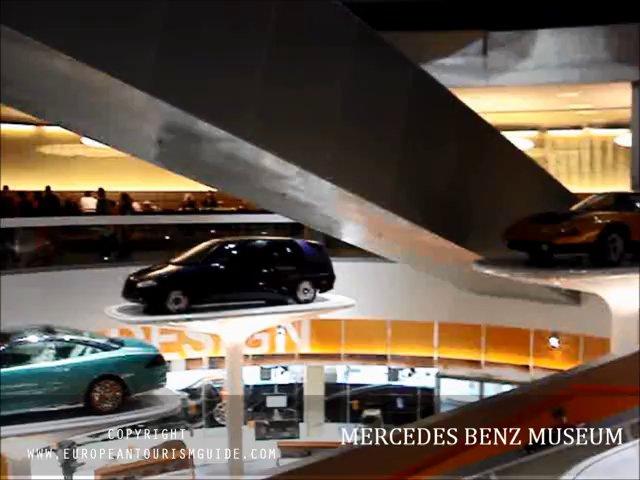 Mercedes-Benz Museum, Mercedes-Benz Stuttgart Germany