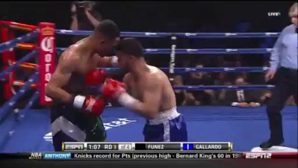 Juan Funez vs Marcelo Gallardo 2014-01-24