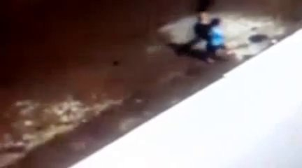 MIRACLE Boy and Grandma Run Over by Crashing Car, ALIVE