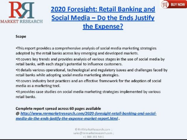 Social Media Marketing in Retail Banking Industry