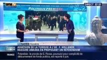 Politique Première: Union européenne: François Hollande annonce un référendum sur l'adhésion de la Turquie - 28/01