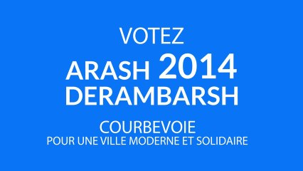 Arash Derambarsh - Happy Courbevoie