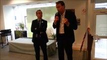 Denis Payre (Nous citoyens) en visite à Arras chez les Citoyens s'engagent
