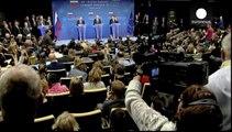 Russian president Vladimir Putin warns against foreign interference in Ukraine