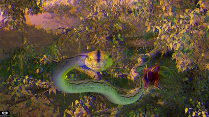 Snake from SOS Planet by nWawe in ColorCode 3-D®