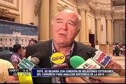 Noticias de las 7: Chile recibió fallo de La Haya de manos del agente Van Klaveren