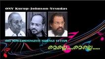 Melle Melle Mukhapadam Thelothukki....ONV Kurup-Johnson-Yesudas *db tech audioHD