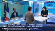 Politique Première: Chômage: François Hollande reconnaît son échec - 29/01