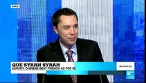 BUSINESS DAILY - Que Syrah Syrah: Chinese overtake French as top red wine drinkers