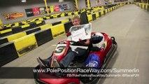 Fun Things To Do In Las Vegas | Pole Position Raceway Las Vegas Strip pt. 1