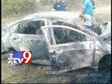 8 Dead as Volvo Bus hits diesel tanker, catches fire near Mumbai