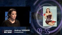 Entretien du jour du  130114 Audrey Verson, Comédienne qui présente le spectacle Comment j'ai épousé un milliardaire