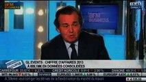 Un chiffre d'affaires annuel 2013 pénalisé par l'effet de change pour GL Events: Olivier Ginon, dans Intégrale Bourse – 29/01