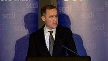 Carney warns of financial risks of Scottish independence