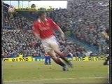 Oldham Athletic v Man Utd FA CUP 1994 Replay First Half