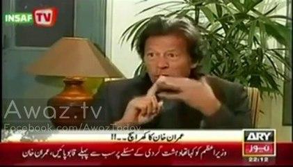 Imran Khan's views on Operations in Waziristan