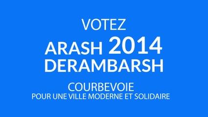 Arash Derambarsh 2014 - Happy Courbevoie