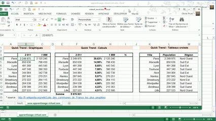 Excel 2013 : Le mode SDI
