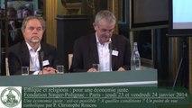 Christophe Roucou - Une économie juste : est-ce possible ? A quelles conditions ? Un point de vue catholique