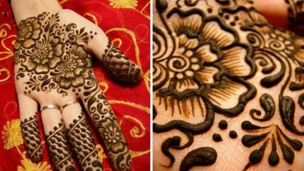 Famous Mehandi Designs For Young Girls