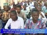 Les comportements sordides de Patrice Talon révélés au grand public par Boni Yayi