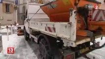 Alpes-Maritimes : après les inondations, la neige à gros flocons