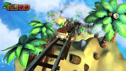 Trailer japonais de Donkey Kong Country : Tropical Freeze