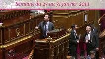 Sénat.Hebdo, semaine du 27 au 31 janvier 2014