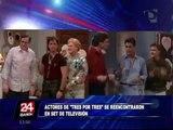 VIDEO: actores de 'Tres por tres' recrearon clásica escena de la serie